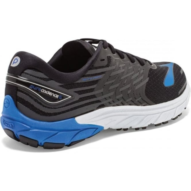 b0504f4a4df The Brooks Pure Cadence 5 in Black and Blue for Men at ...