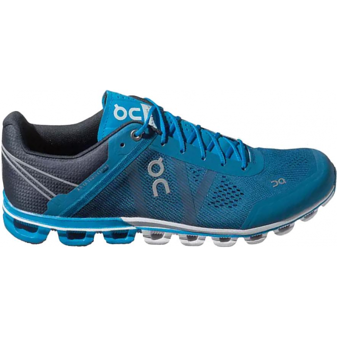 wholesale dealer 77960 81c04 Cloudflow Mens LIGHTWEIGHT CUSHIONED Road Running Shoes River/Navy