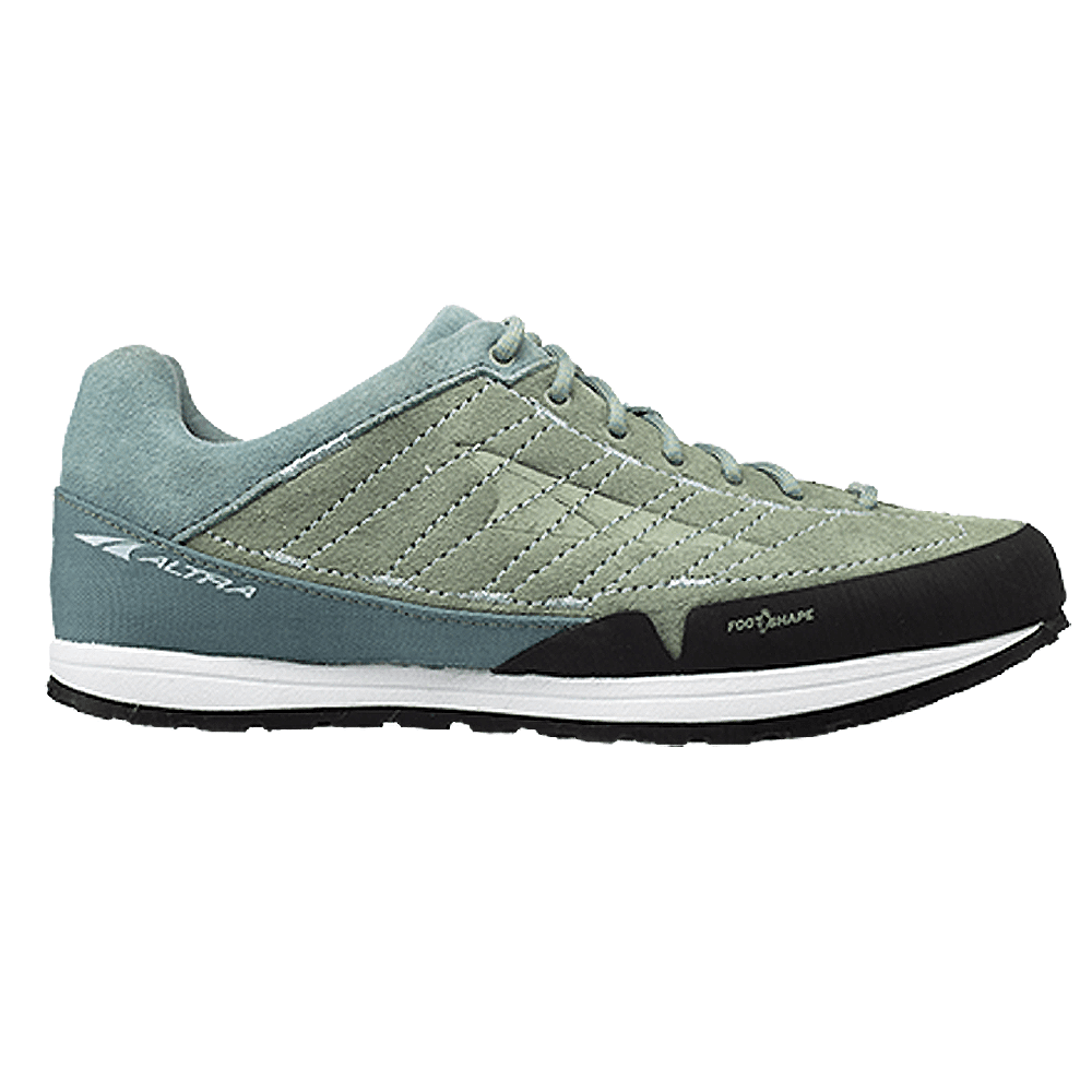 Grafton Womens Zero Drop Cushioned Trail Aproach Hiking Shoes Green Teal At Northernrunner Com