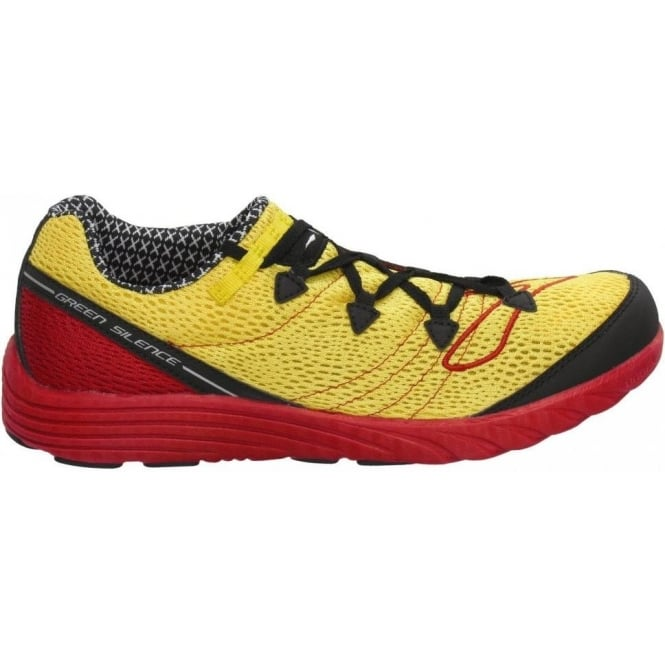 e4253b2c10e Green Silence Road Racing Shoes Yellow Red Unisex at NorthernRunner.com