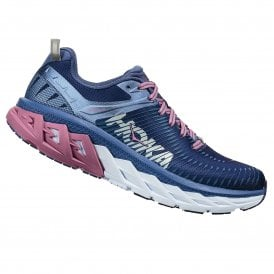 daeab29cc3a Arahi 2 Womens HIGH CUSHIONING Road Running Shoes WITH SUPPORT Marlin Blue  Ribbon