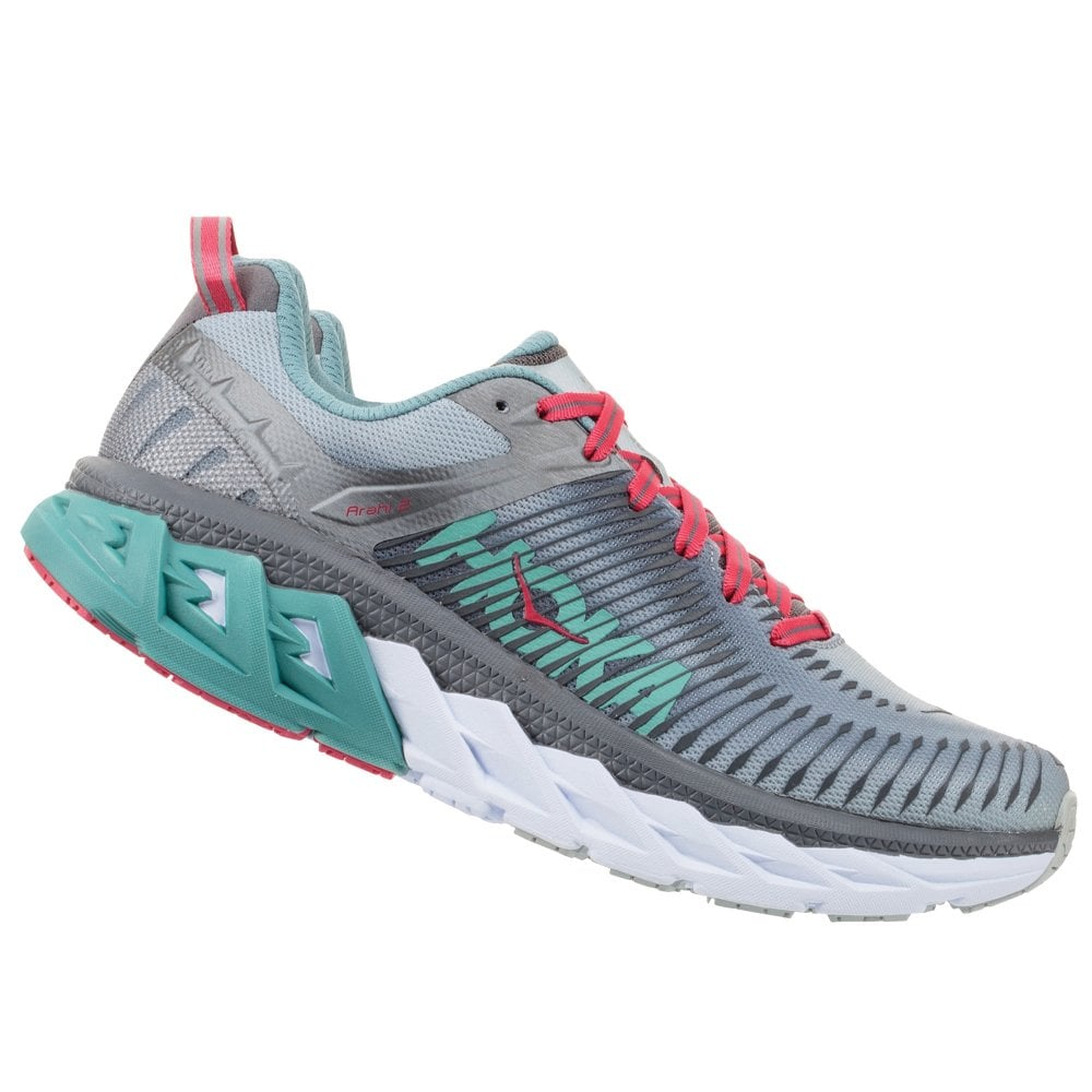 5b1a877c7c23d Arahi 2 Womens HIGH CUSHIONING Road Running Shoes WITH SUPPORT Steel/Gray  Metal