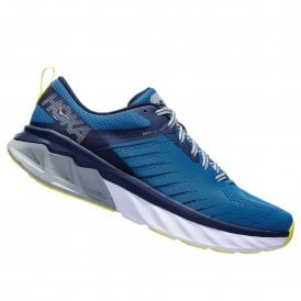 Arahi 3 WIDE Mens HIGH CUSHIONING Road Running Shoes with SUPPORT for OVERPRONATION Blue Sapphire/