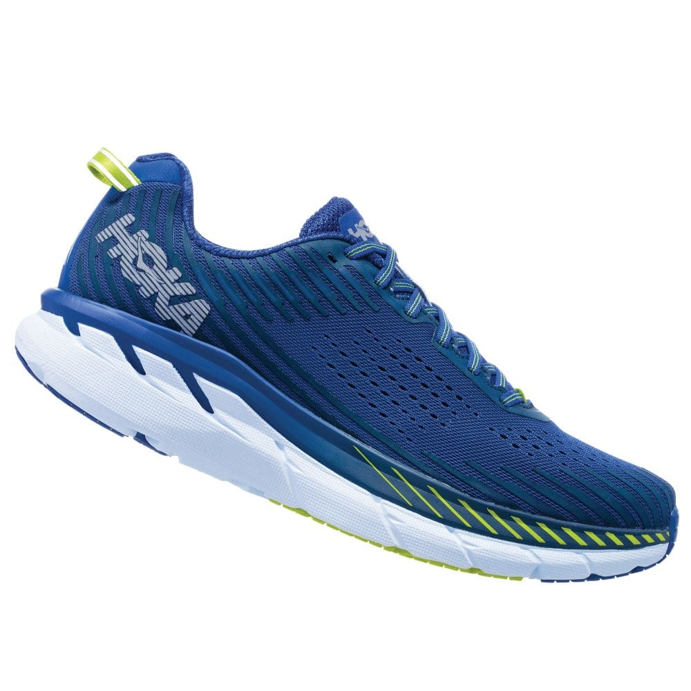 229e152e35 Clifton 5 Mens LIGHTWEIGHT & HIGH CUSHIONING Road Running Shoes  Sodalite Blue/Mood Indigo
