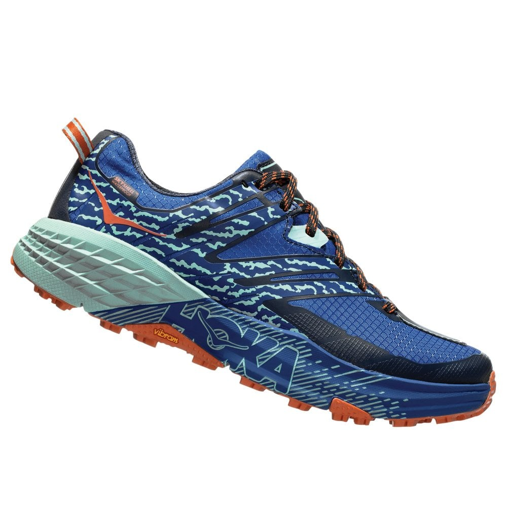 1b473d175fc2f Speedgoat 3 Waterproof Womens HIGH CUSHIONING WATERPROOF Trail Running Shoes  Sodalite Blue Lichen