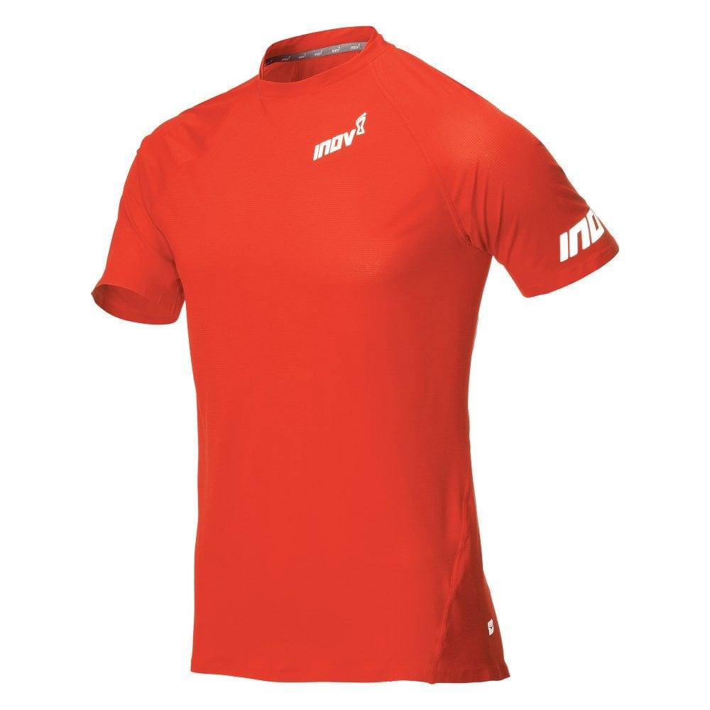 Base Elite Mens Short Sleeve Running Base Layer T-Shirt Bright Red ... 8c45b615b11e