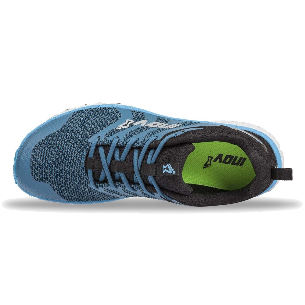 new arrivals bf4ed 0f283 ParkClaw 275 Knit Mens WIDER FITTING CUSHIONED Trail Running Shoes Blue/Grey