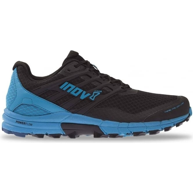 TrailTalon 290 Mens STANDARD FIT (WIDER) Trail Running Shoes Black Blue eb0e12090b7
