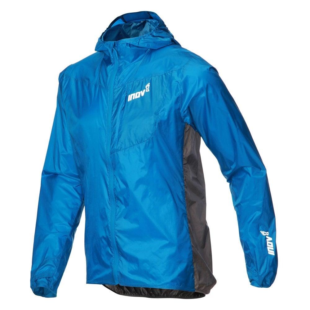 Red Inov8 AT//C Windshell Full Zip Mens Running Jacket