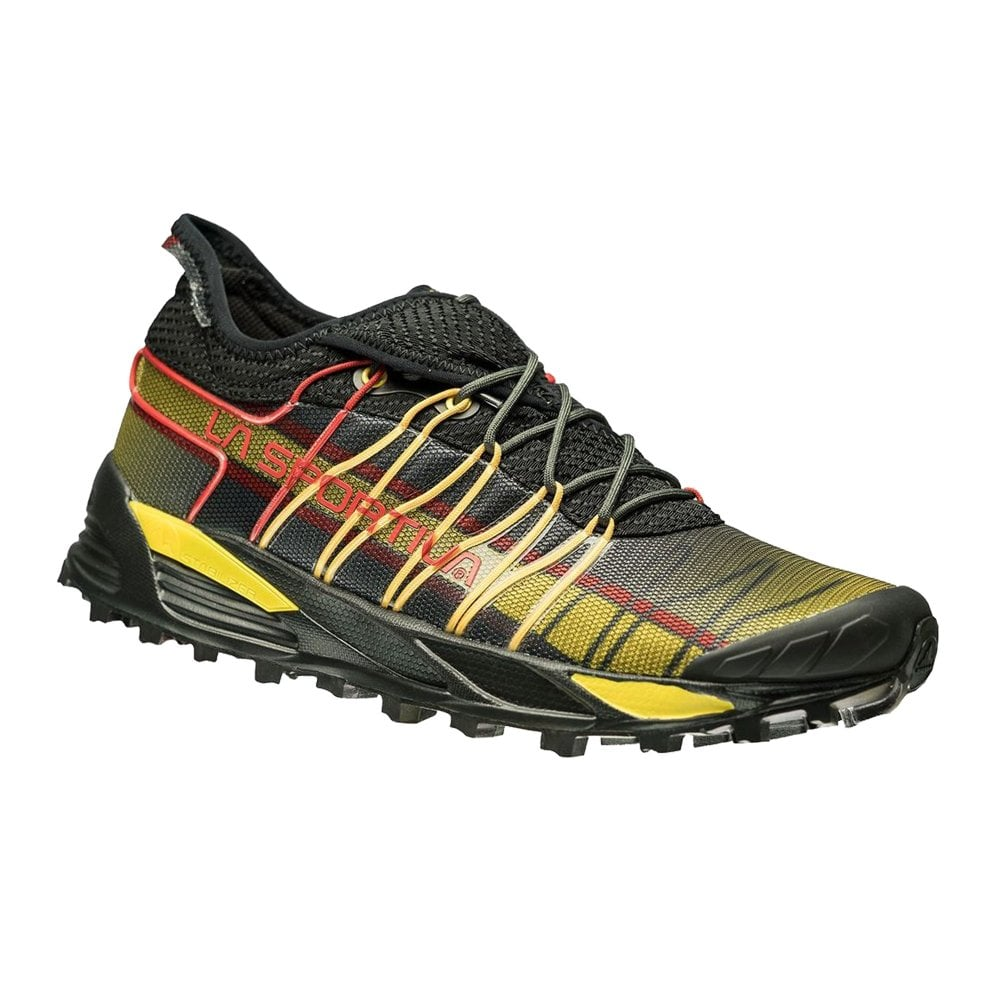 856560232df La Sportiva Mutant Mens Trail Mountain Off Road Running Shoes Black Yellow