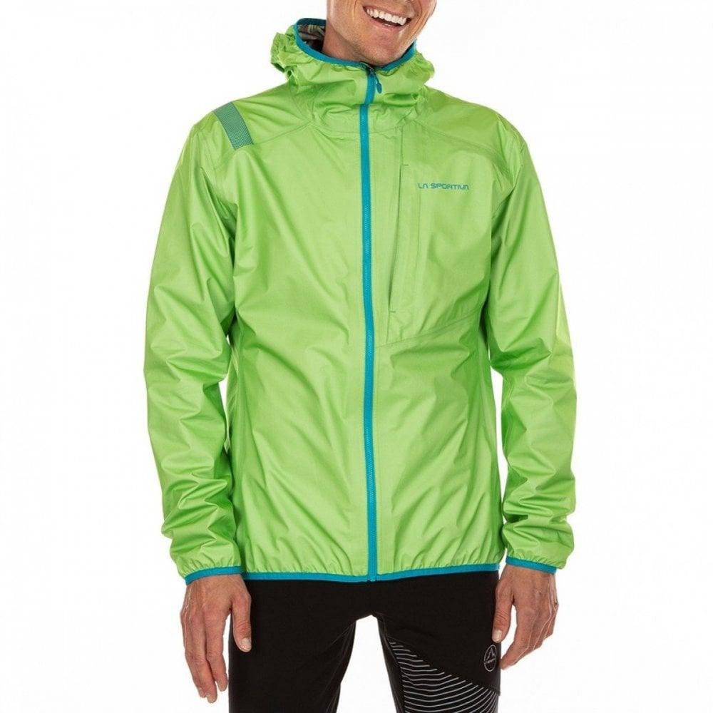 3596206d93a37 Odyssey GTX Waterproof GoreTex Jacket for Running & Mountaineering Apple  Green