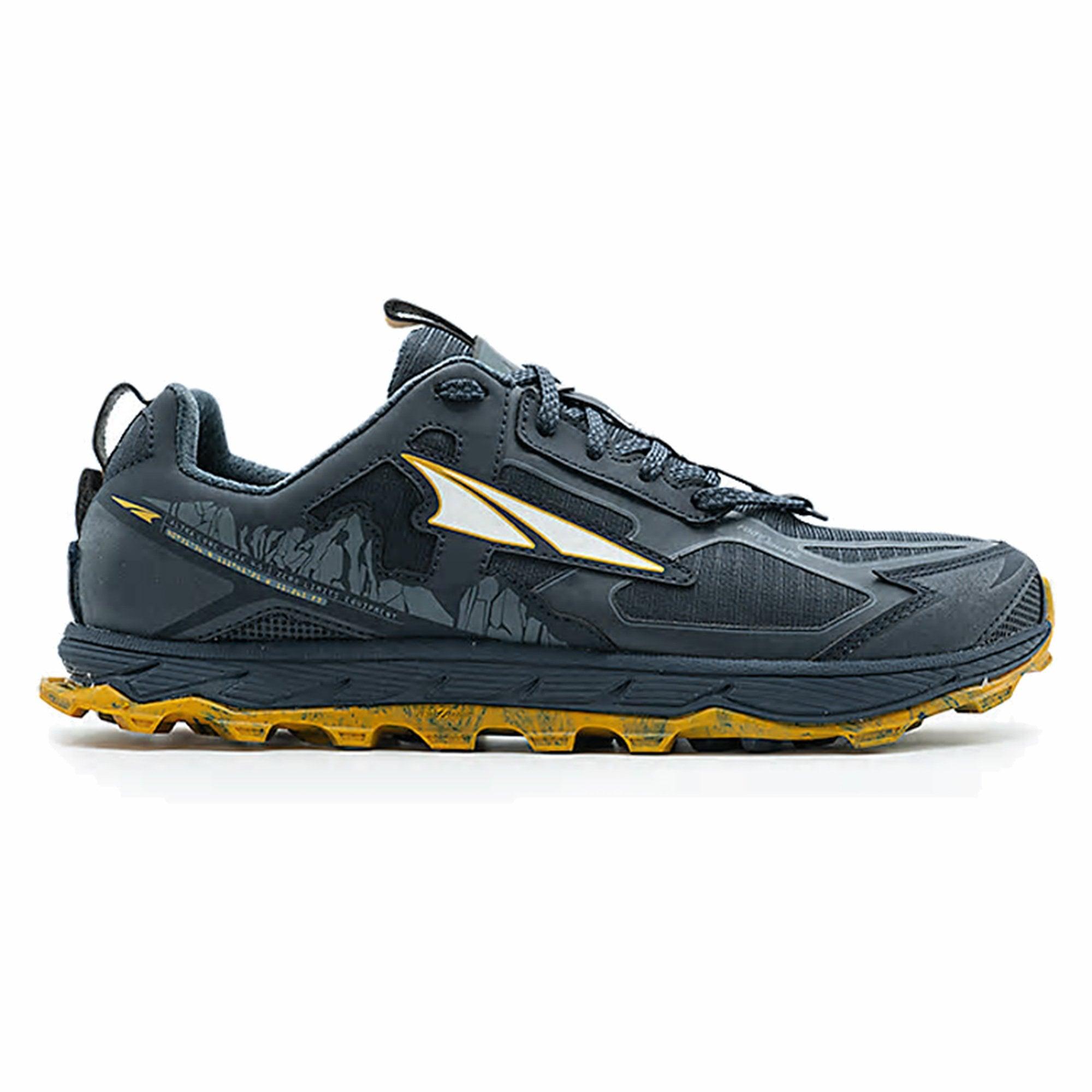 Lone Peak 4 5 Mens Zero Drop Footshape Toe Box Trail Running Shoes Carbon At Northernrunner Com