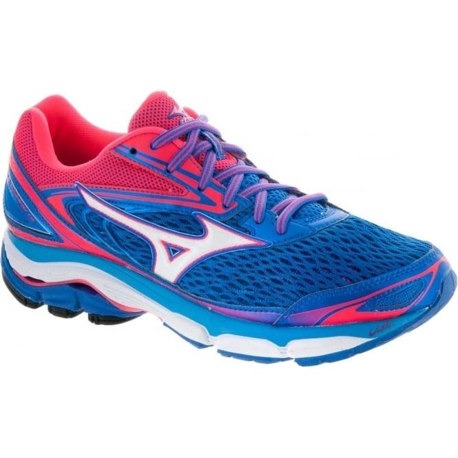 best service 1a41c 34389 Mizuno Wave Inspire 13 Blue/White/Pink Womens