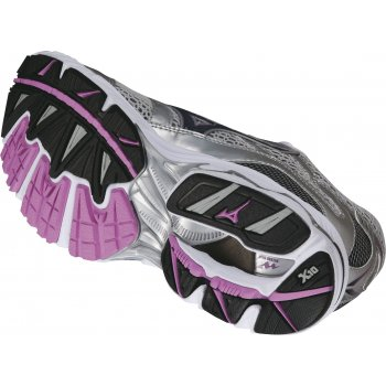 605728a9e256 Wave Inspire 7 Road Running Shoes White/Purple/Green Women's at ...