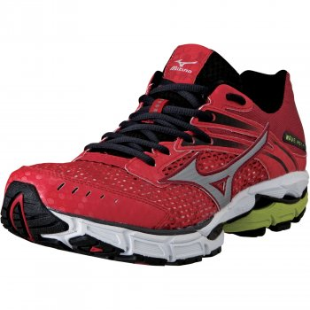 f1bd9acf2844 Wave Inspire 9 Road Running Shoes Anthracite/Chinese Red/Lime Mens ...