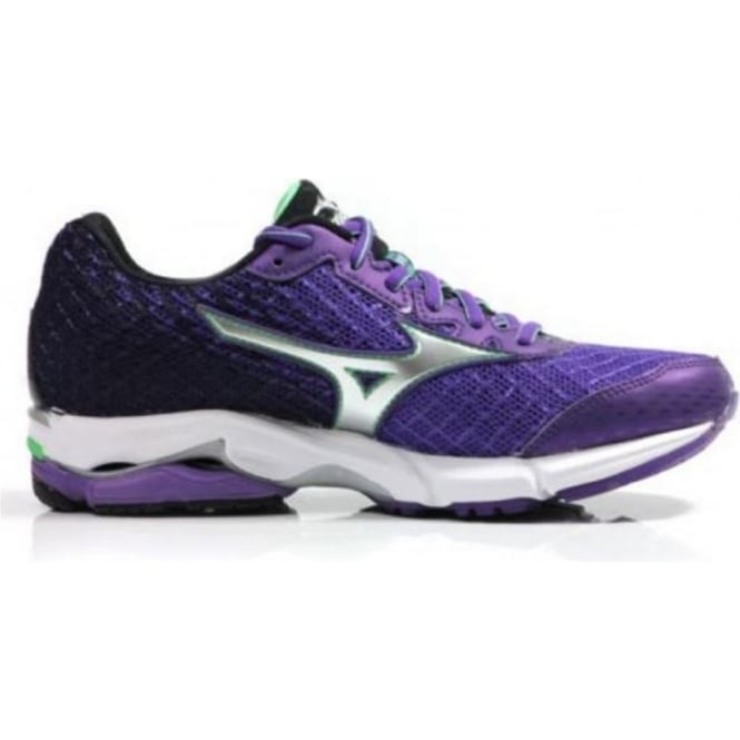 premium selection 873ae ac682 Mizuno Wave Rider 19 Purple Womens