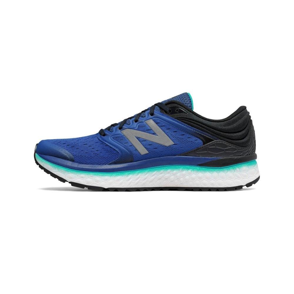 buy popular 153e2 d76a0 1080 v8 Fresh Foam Mens 2E (WIDE) HIGH CUSHIONING Road Running Shoes Blue