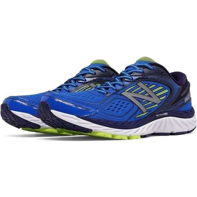 860 V7 Blue Mens 4E WIDTH (EXTRA WIDE) Road Running Shoes