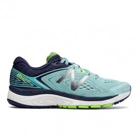 watch 975c6 582df 860 v8 Womens B WIDTH (STANDARD) Road Running Shoes with SUPPORT for  Overpronation Blue Women. New Balance ...