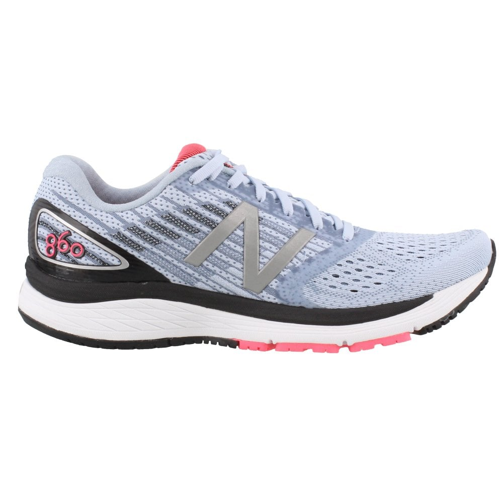 860 v9 Womens B Width (STANDARD) Road Running Shoes with Support for  Overpronation Ice 9c02c3d63