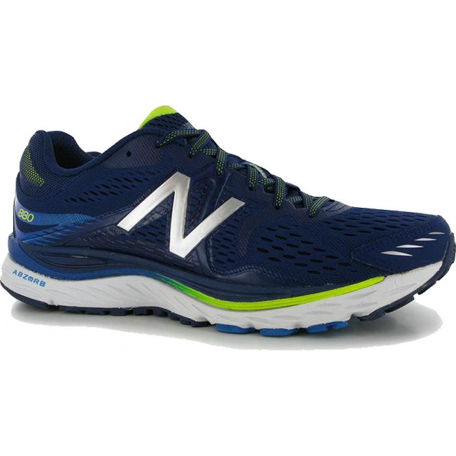 d27df787f9e50 880 V6 Mens D WIDTH (STANDARD) Road Running Shoes Blue at ...
