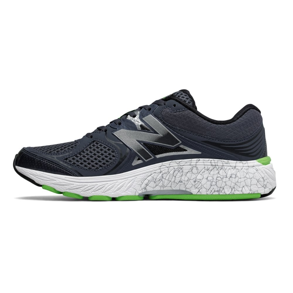 info pour a4846 a9f79 940 V3 Mens D WIDTH (STANDARD) Road Running Shoes w/ SUPPORT FOR  OVERPRONATION Blue/Green