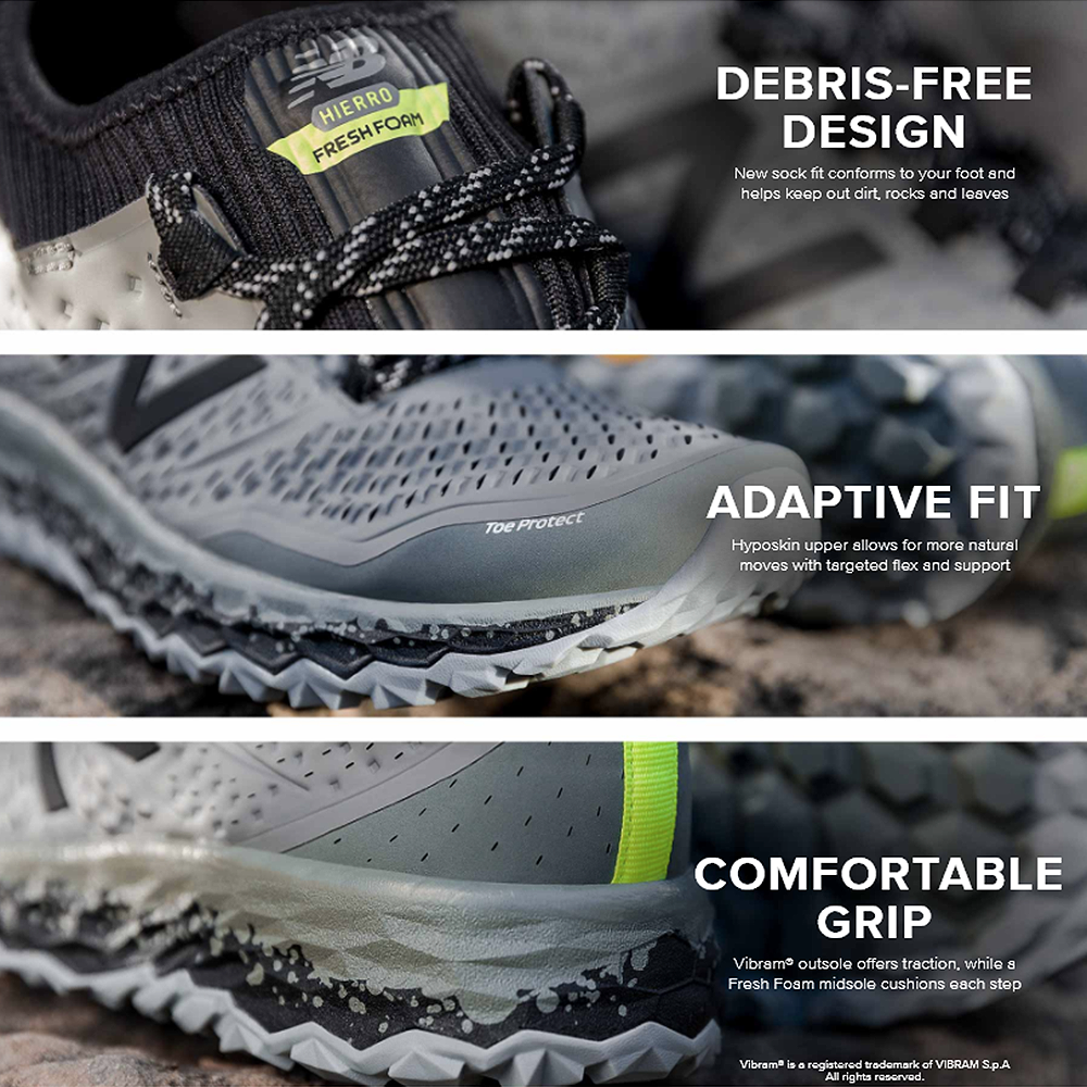 chaussure trail new balance hierro