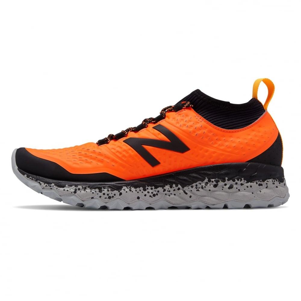 to buy brand quality stable quality New Balance Hierro v3 Fresh Foam Mens 2E WIDE Cushioned Trail Running Shoes  Dynamite/Black/Impulse