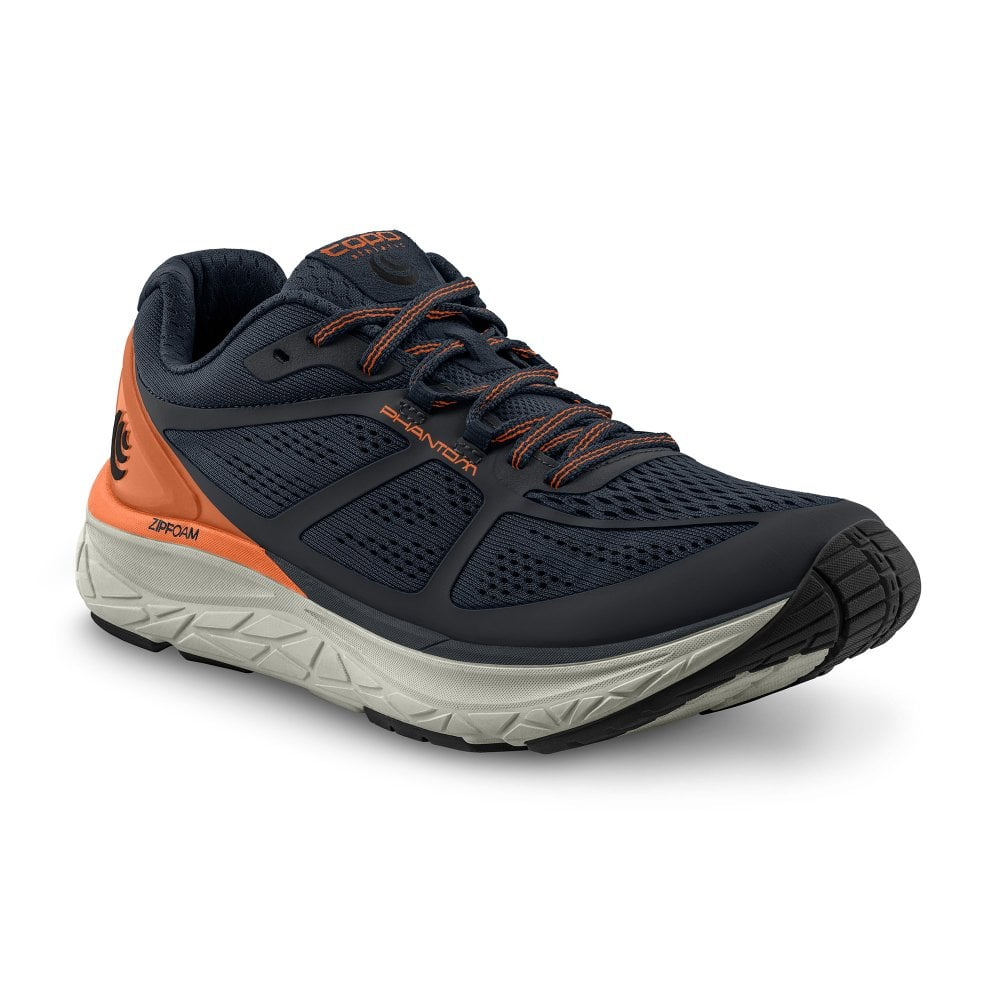 ROUNDED TOE BOX Road Running Shoes Navy