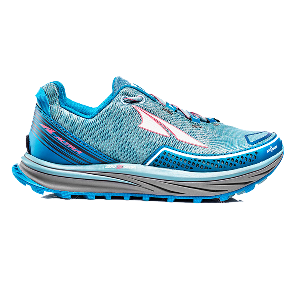 Timp Womens Zero Drop Trail Running Shoes Blue at