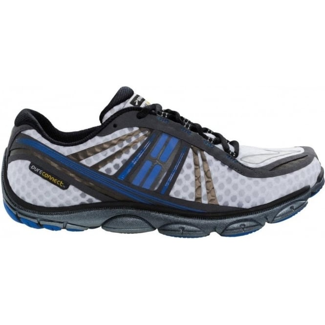 466aa78c399 Pure Connect 3 Minimalist Road Running Shoes White Electric Anthracite Mens