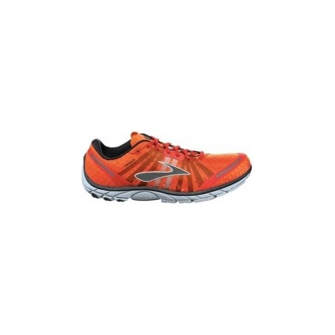 daf4150bfb2ed Pure Connect Minimalist Road Running Shoes Shocking Orange Cherry  Tomato Black Mens