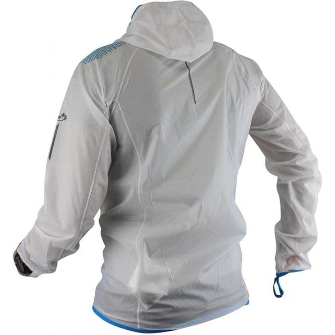 62aa333eb Raidlight Hyperlight MP+ Mens Waterproof Breathable Jacket White/Electric  Blue