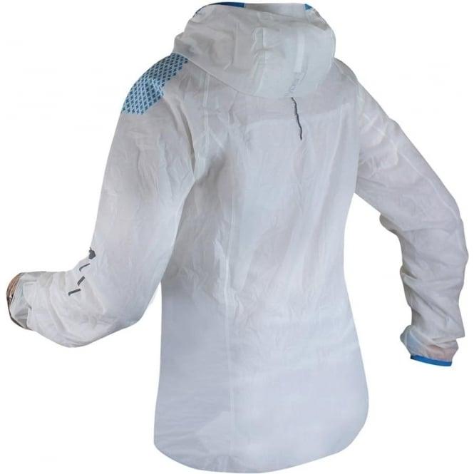 887c8e3f7 Raidlight Hyperlight MP+ Womens Waterproof Breathable Jacket White/Electric  Blue