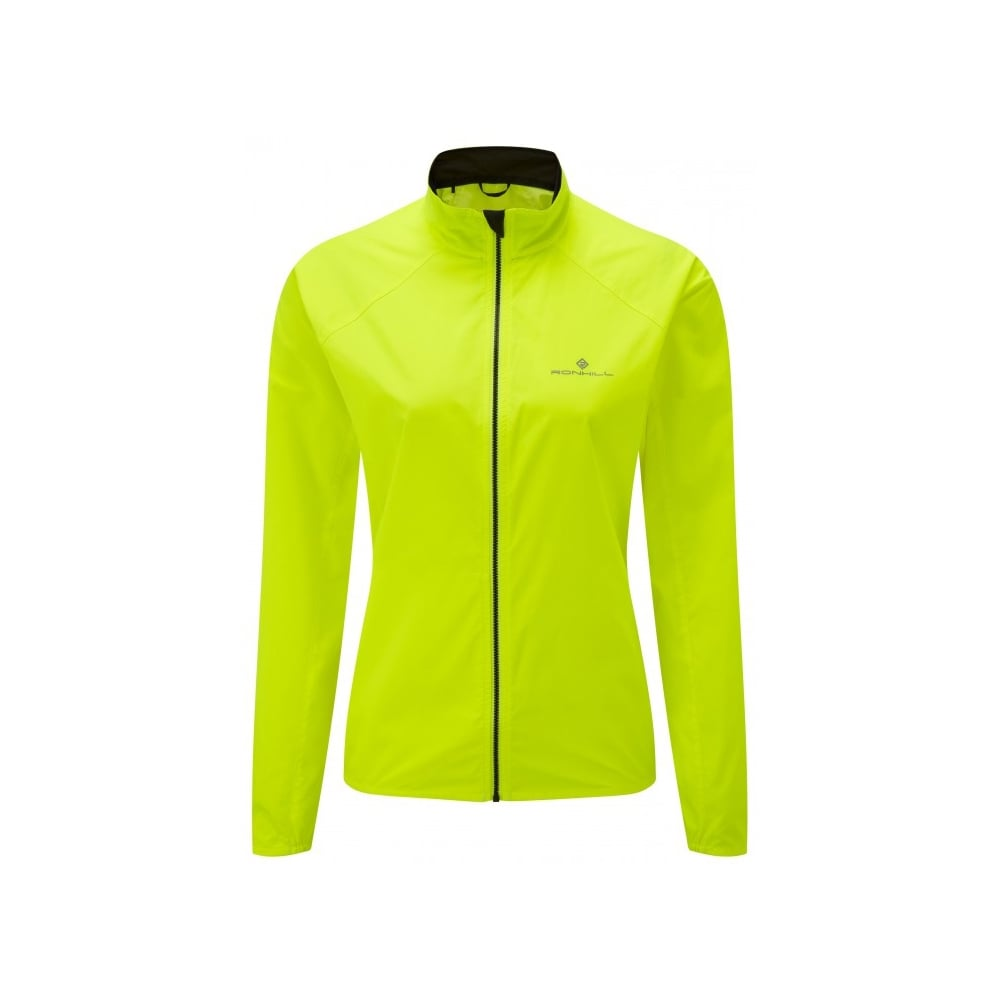 Ronhill Womens Everyday Jacket Fluo Yellow Size 14