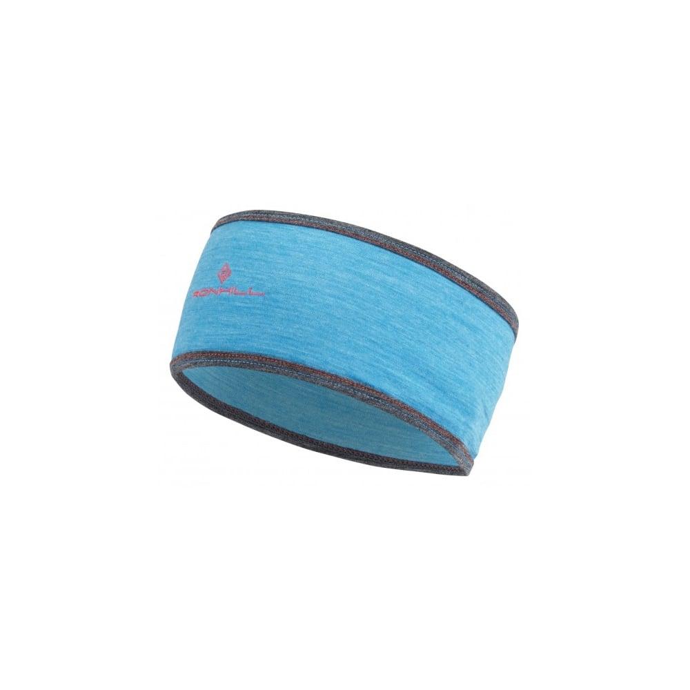 Ronhill Merino 200 Running Headband Deep Cyan//Marl One Size