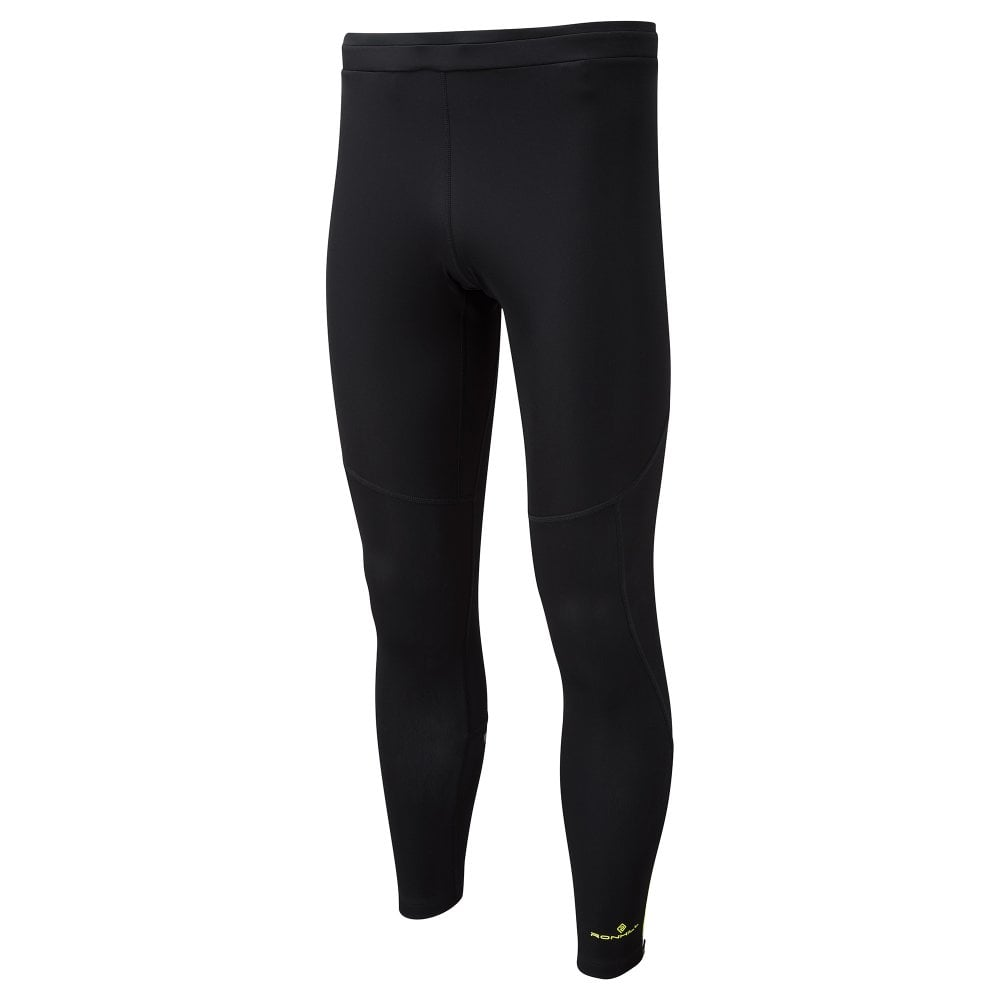 5d89677020a8b Stride Winter Shield Mens Breathable Winter Running Tights Black/Fluo Yellow