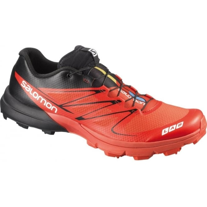 hot sale online e6349 de0cb Salomon S-Lab Sense 3 Ultra SG Off Road Running Shoes Red/Black Mens