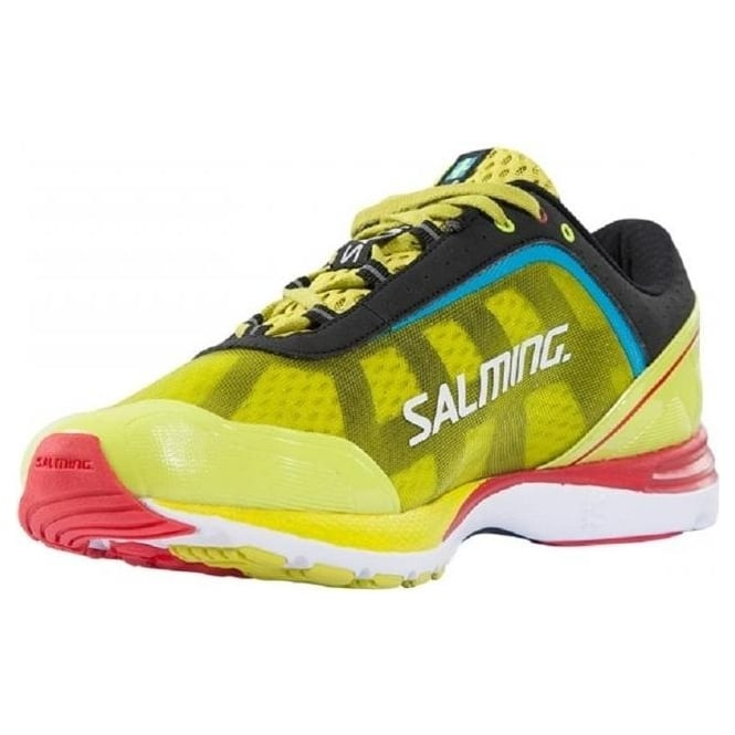 Salming Distance Shoe Acid Green 1284020-6602 Running Shoes New