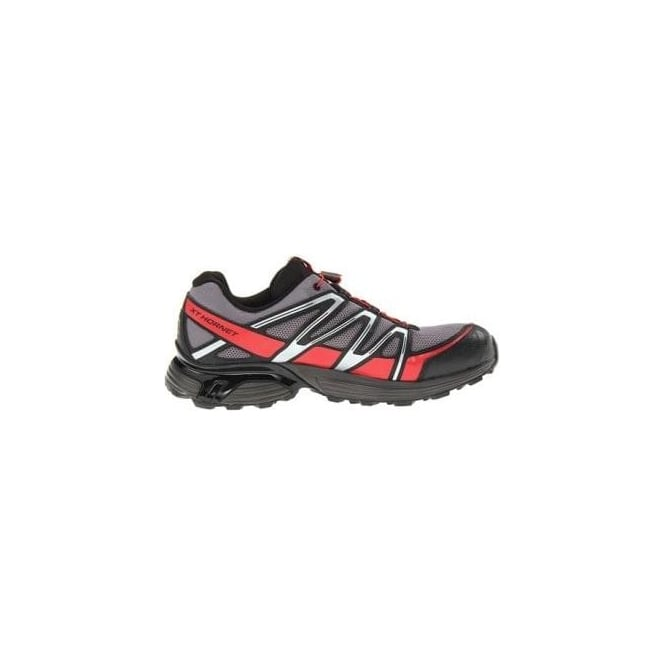save off d8f68 fc178 XT Hornet Trail Running Shoes Detroit Black Bright Red Mens