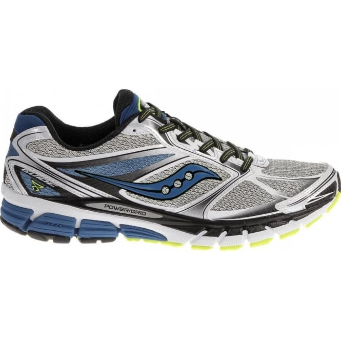 58ee14fd217d Guide 8 Road Running Shoes White Blue Citron Mens at NorthernRunner.com