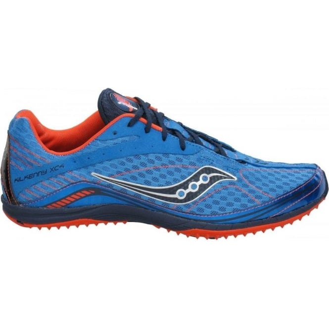 5e0c4819 Saucony Kilkenny XC4 Cross Country Running Spike Blue/Orange