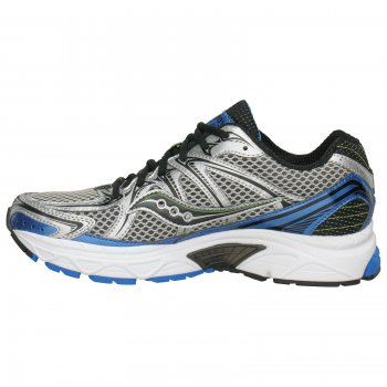 Saucony ProGrid Jazz 15 Road Running Shoes SilverBlackBlue Mens