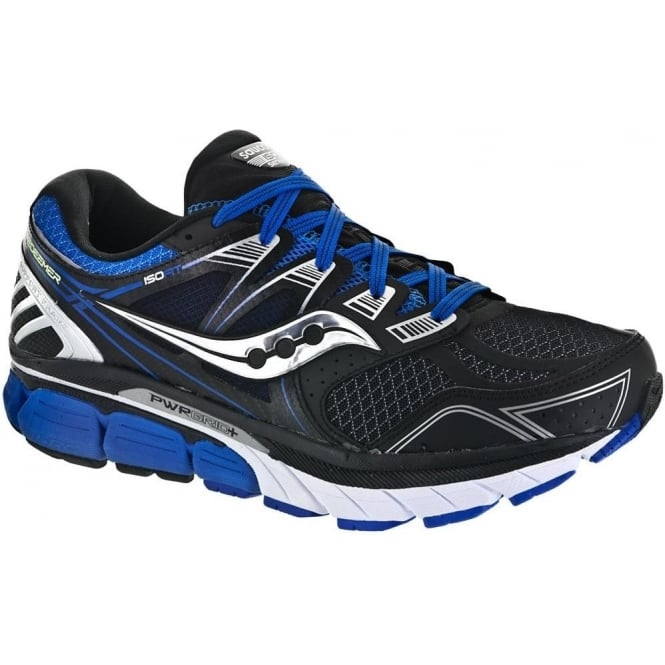 lowest price b551c 4d3a1 Redeemer ISO Road Running Shoes Black/Blue Mens