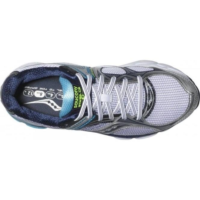 f380097e Saucony Stabil CS3 Running Shoes White/Blue/Navy Women's
