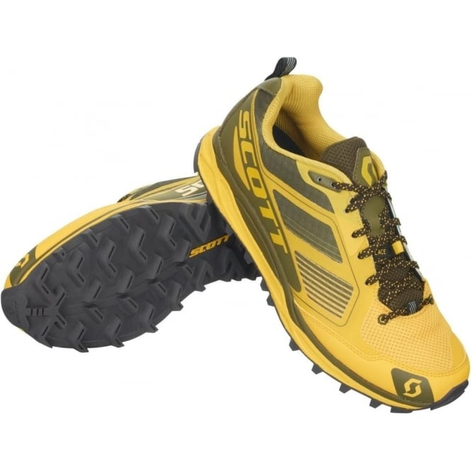 43170235380 The Scott Kinabalu Supertrac in Yellow for Men at Northernrunner.com