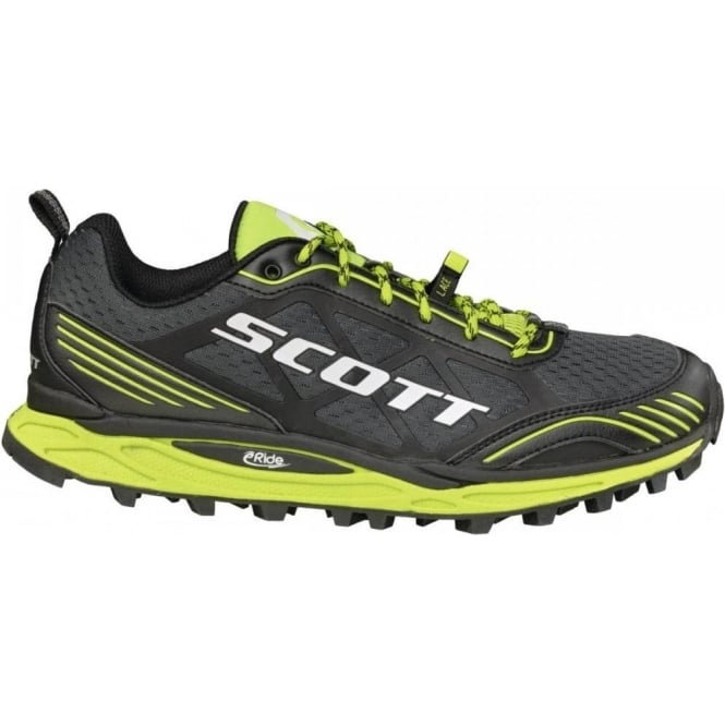 new product 33d3d 4c600 Scott Kinabalu Supertrac Trail Running Shoes Black/Green Mens