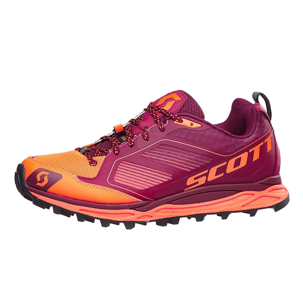 new product 49ae3 0cf49 Kinabalu Supertrac Womens Trail/Off-Road Running Shoes Orange