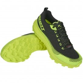 16709fc7fb1 Supertrac Ultra RC Mens CUSHIONED OFF-ROAD Running Shoes Black Yellow