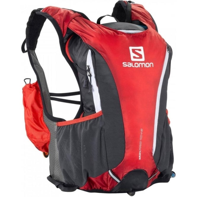 d0ee257a40a Skin Pro 10+3 Set Bright Red Running Rucksack at NorthernRunner.com